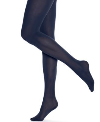 Amp up your everyday look with a pop of bold color with these opaque tights from Hue. Pair them with skirts or dresses for a dramatic deskside to dinner date style. | Nylon/spandex | Hand wash | Made
