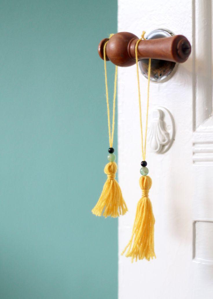 DIY | Lav din egen kvast i garn - F L A I R