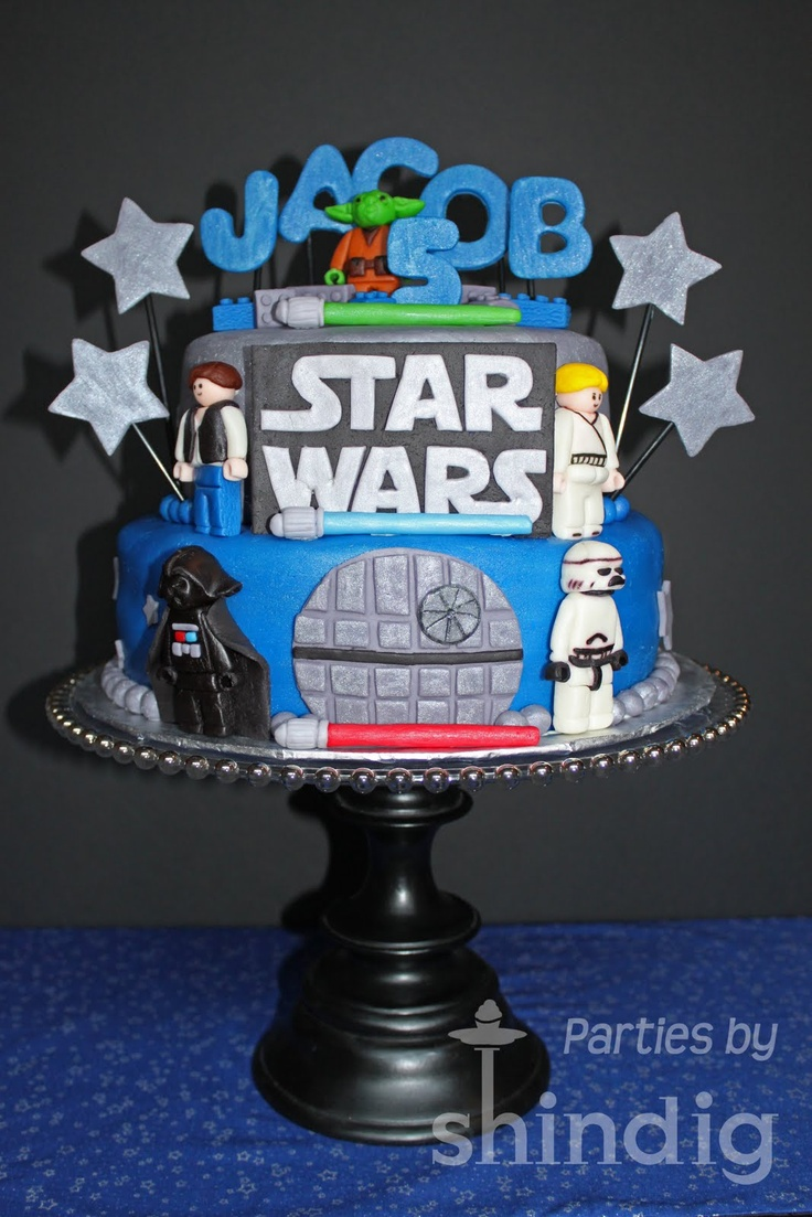 15 best STAR WARS and ANGRY BIRD STARWARS cake ideas images on
