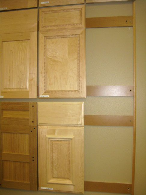 wall to wall kitchen cabinets wall cabinet door sample display with door removed 28110