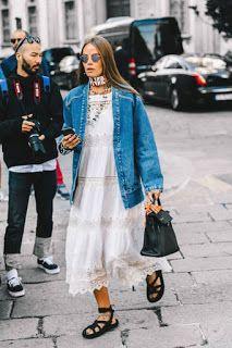 Bijoux fantaisie femme tendance: tenue femme, summer season outfit, jean, outfit, tenue…
