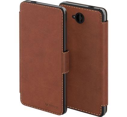 Mozo Book Case Microsoft Lumia 650 Bruin - 1