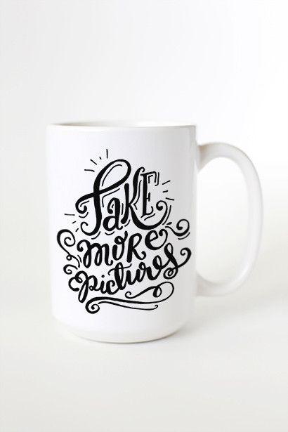 Take More Pictures Mug
