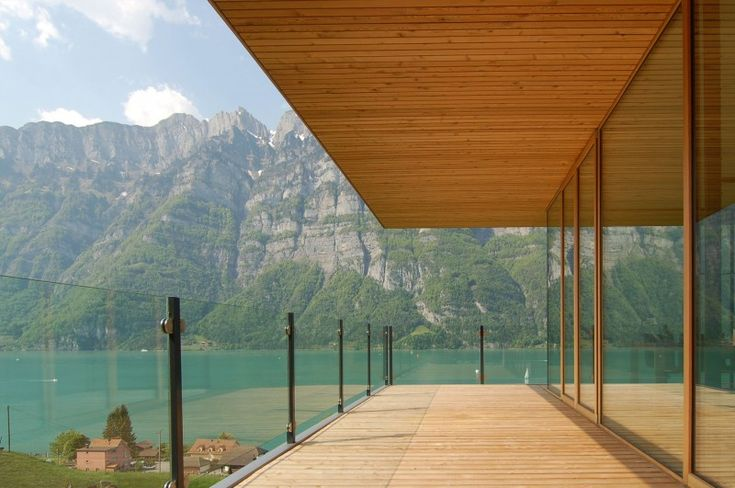 Wohnhaus Am Walensee by K_M Architektur | HomeDSGN, a daily source for inspiration and fresh ideas on interior design and home decoration.