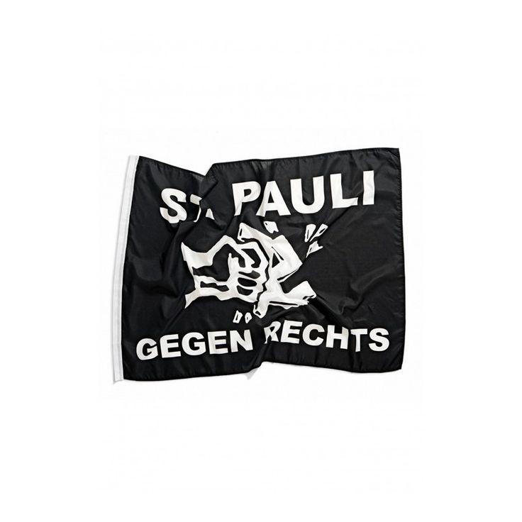 St. Pauli Gegen Rechts flag
