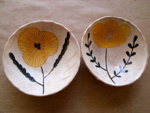ceramic bowls, by I-kyouko