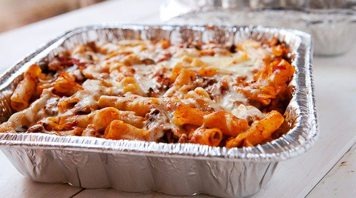 The best method and recipe I know for freezing baked ziti. Make a lot or make even more. It keeps perfectly and reheats beautifully.