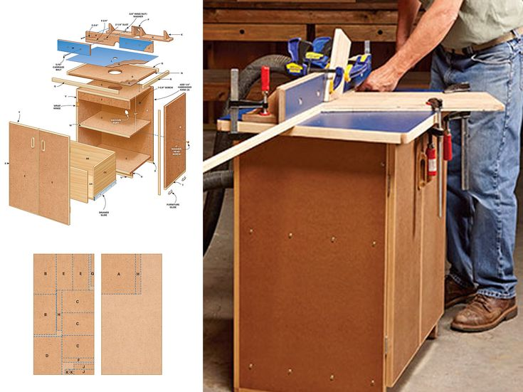 Build a Router Table with These Free Downloadable DIY Plans: The Family Handyman's Router Table Plan