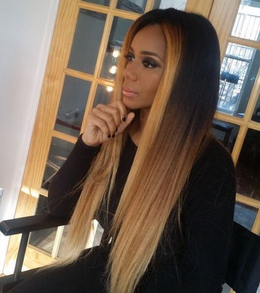 Two Tone Weave Hair Gallery Hair Extensions For Short Hair