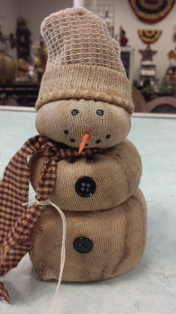 Como hacer adornos con figura de monos de nieve snowman for Figuras de nieve navidenas