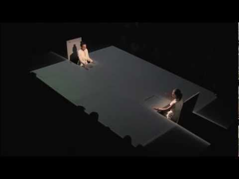 CONTRACTIONS (THEATRICAL PLAY) SCENOGRAPHY LIGHT ENVIRONMENT BY STATHIS MITSIOS