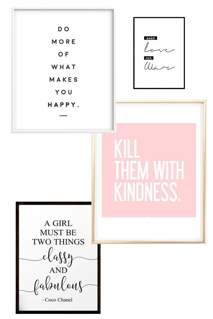 Im Interior Blog aus Österreich findet ihr heute die schönsten Statement Poster und Lifestyle Prints für euer Zuhause! Mehr nach dem Klick!