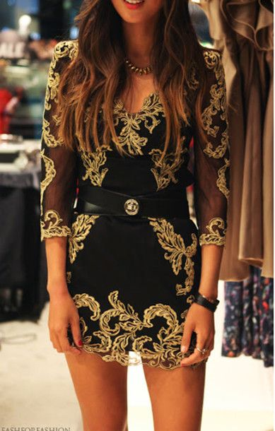 Love this embroidered dress