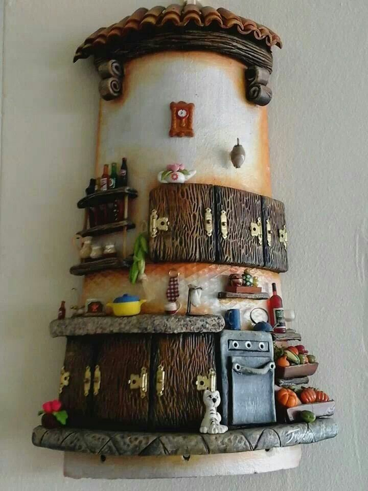 M s de 1000 ideas sobre torta de botella en pinterest - Como decorar tejas rusticas ...
