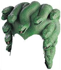 Image result for making foam medusa snakes