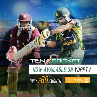 Indian Tv Channels: Ten Cricket Now Available on YuppTV