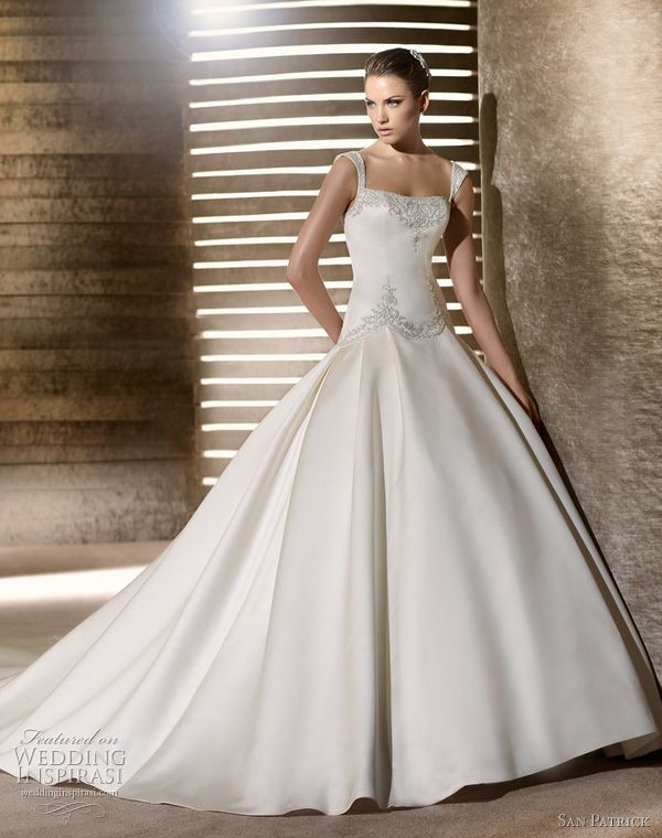 San Patrick wedding dress 2012 - sharker bridal gown
