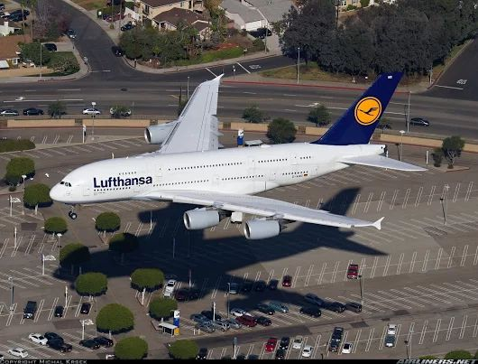 LAX - Lufthansa A380