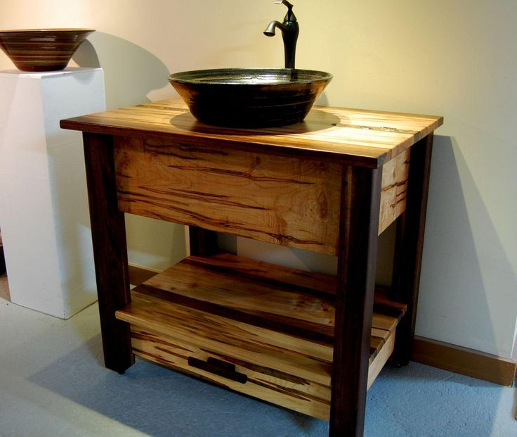 Bathroom Vanities: Bath Room Rustic Bathroom Vanities And Sinks 24 Inch  Vessel Comely Rustic Bathroom