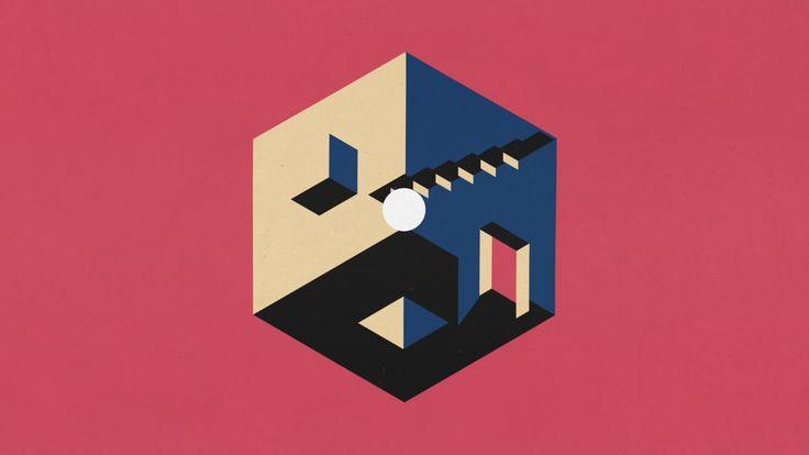 Simple shapes in motion by Jordan Coelho