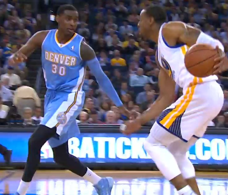 Andre Iguodala Gets Crossover Of The Year On Quincy Miller (Video)