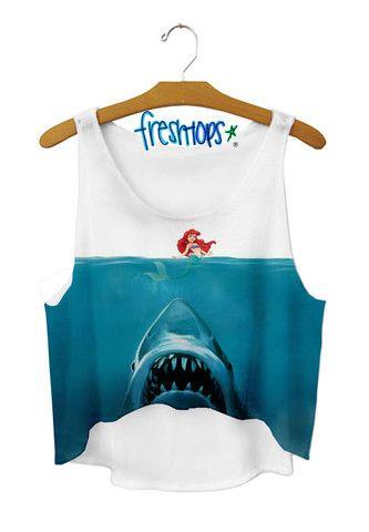 jaws x mermaid - Fresh-tops.com I THINK I LOVE THIS TOO MUCH