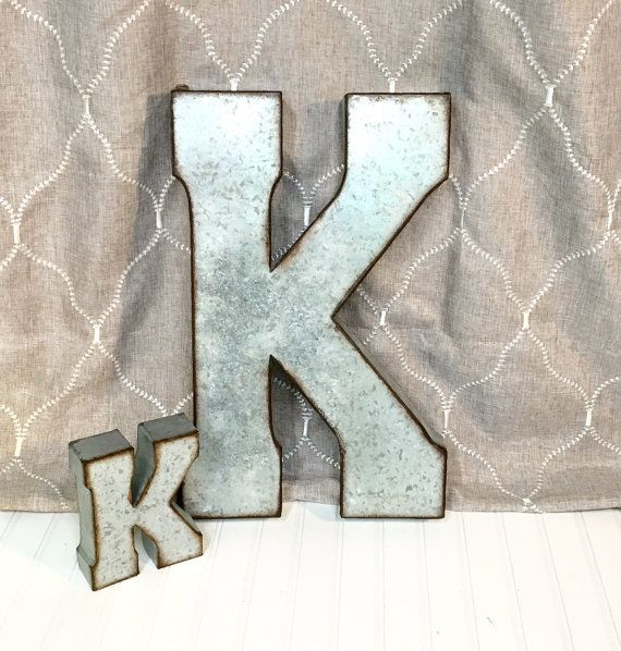 large letters for wall 19 best large galvanized letters images on 16001