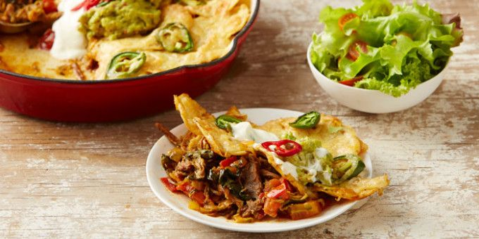 Lamb Skillet Nachos - sure to be a weekend staple. Oh how I have missed nachos!