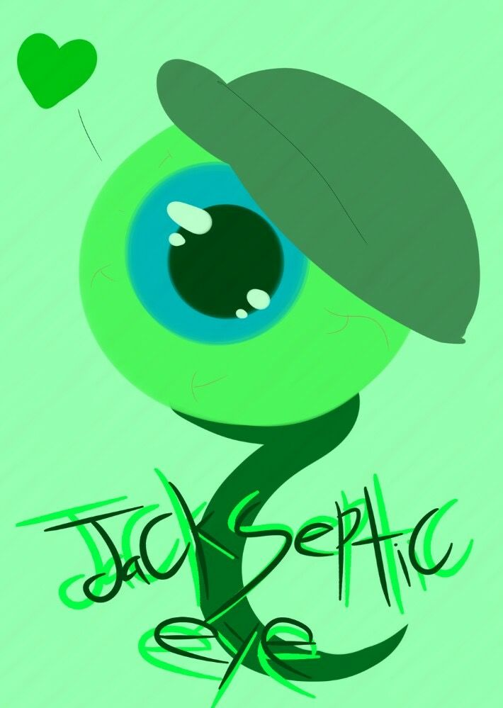 Jacksepticeye's Septiceye Sam fanart. Credit to artist for this awesome fanart