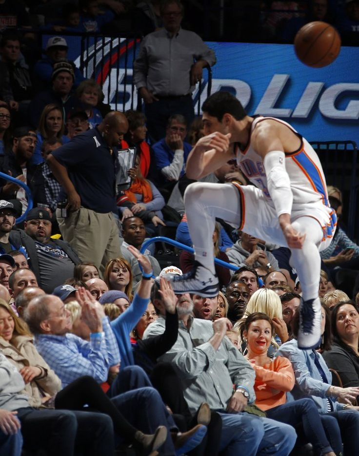 Oklahoma City's Enes Kanter showing the true meaning of hustle