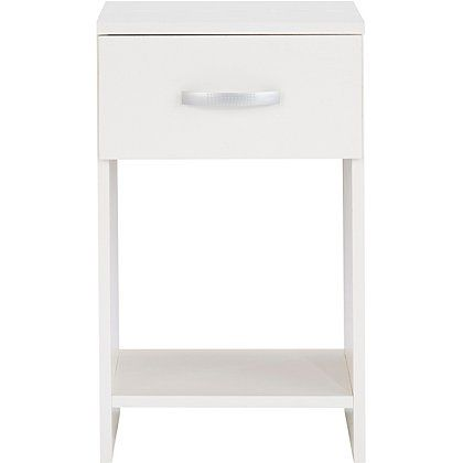 George Home Marlow Bedside Table - White Ash Effect | Home & Garden | George at ASDA