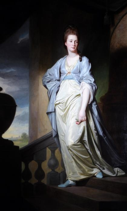 Anne Verelst, 1771, by George Romney. Anne Verelst was born in 1751. She was the youngest daughter of Josias Wordsworth of Wadworth Hall near Doncaster. In 1771 she married Harry Verelst, (a former Governor of Bengal) and moved into his house, Aston Hall, near Rotherham. This portrait was painted in 1771 or 1772 and is likely to have been commissioned to celebrate their marriage.