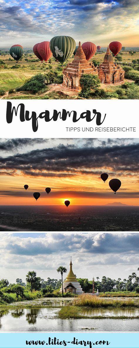 Minha viagem a Mianmar – duas semanas de viagem original à Ásia   – ASIEN Reiseziele