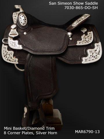 Dale Chavez Company Inc. Custom Show Saddles. Silver Show Saddles.