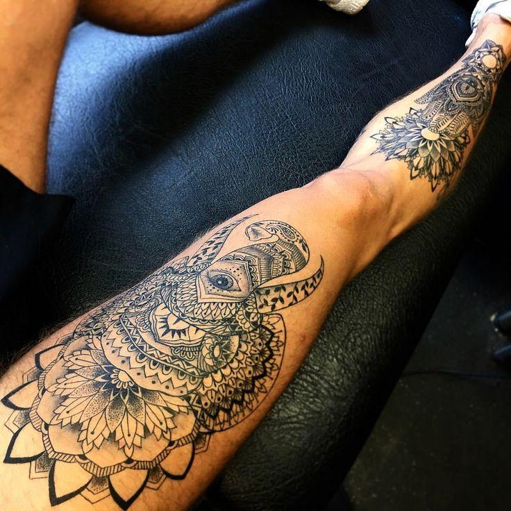 Tattoo motive frauen bein