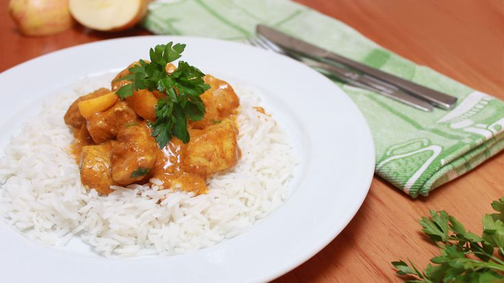 Chicken and Apple Curry for no-curry-lovers Recipe