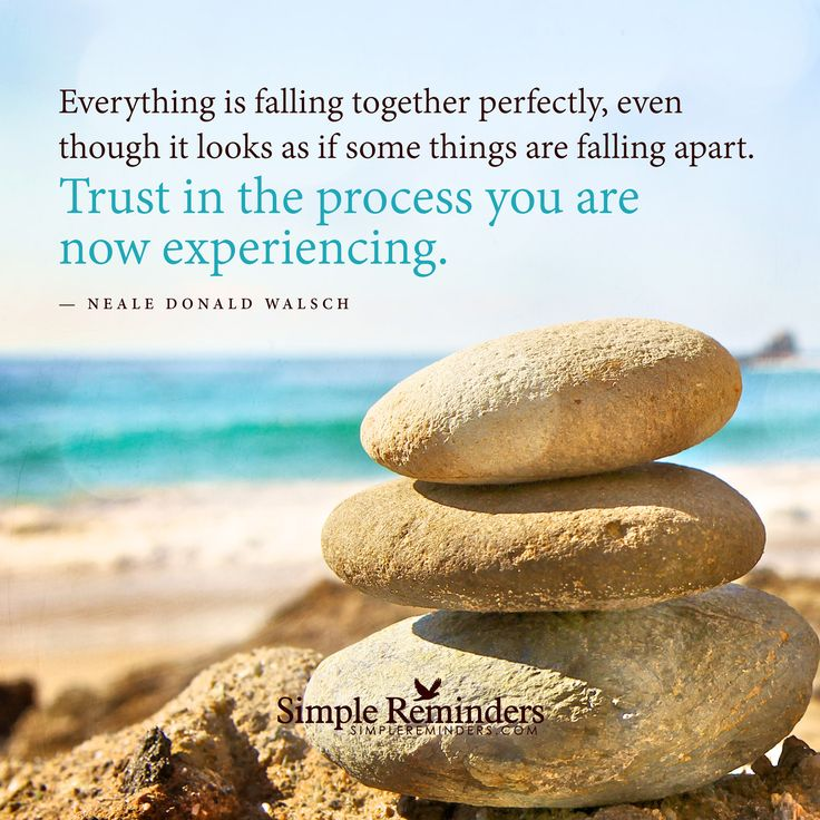 Falling Apart Inspirational Quotes: Everything Is Falling Together Perfectly, Even Though It