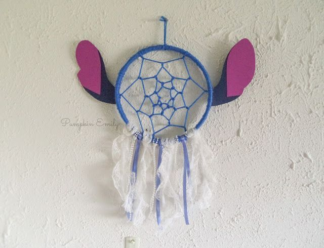 Diy Disney Room Decor Ideas Diy Lilo Stitch Dreamcatcher Disney Room Decor Diy Room Decor For Teens Disney Room Diy