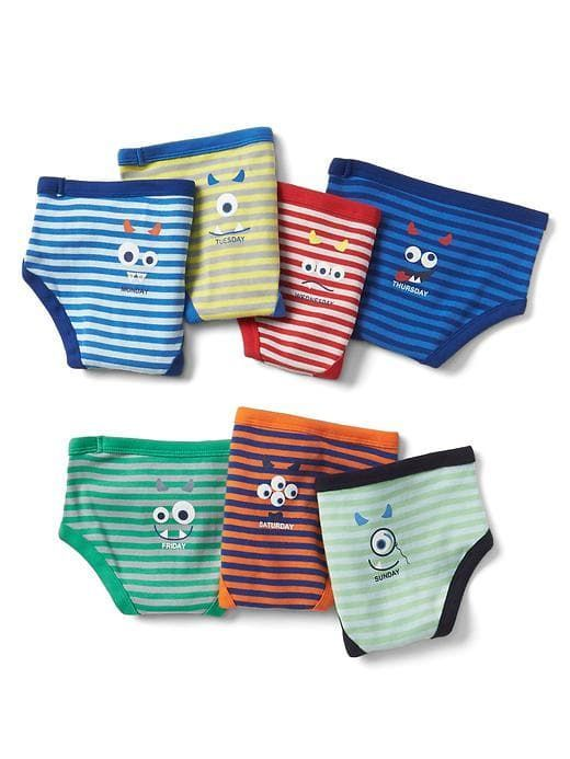 a751c69f008b Gap Baby Monster Days-Of-The-Week Briefs Multi Size 2-3 YRS | Products |  Toddler boy outfits, Boys underwear, Toddler boys