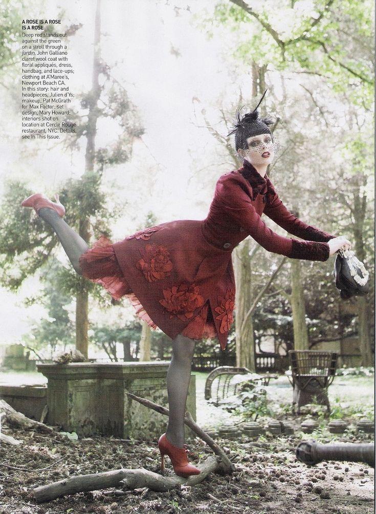 Vogue US September 2007 /Je T'aime / Various / Steven Miesel - Fashion Freaks