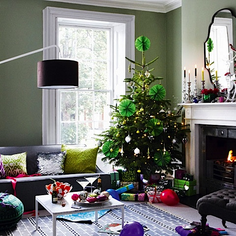 modern christmas decor .... love