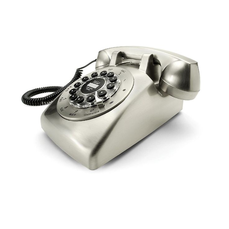 Dreyfuss 500 phone - chrome