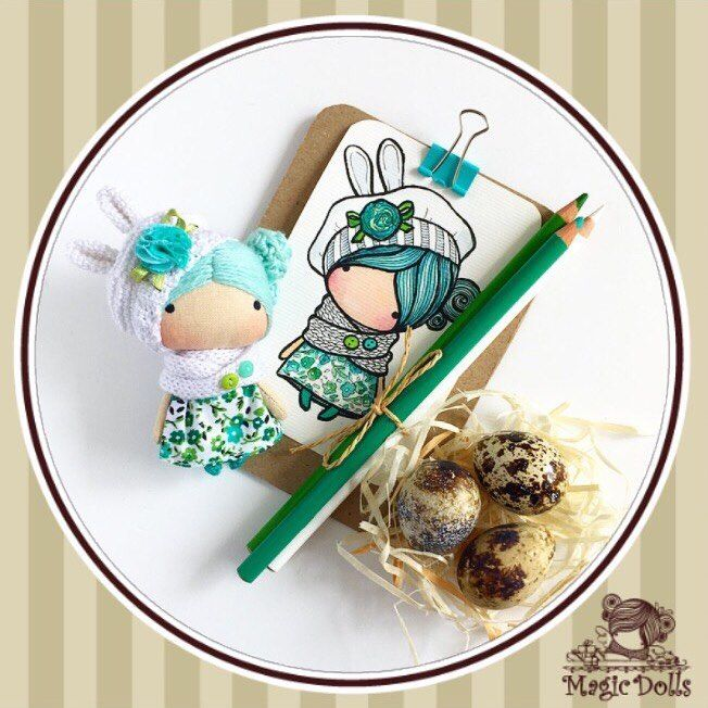 704 отметок «Нравится», 8 комментариев — @magic__dolls в Instagram: «Ma Petite Poupee - White Bunny  (for example/для примера)  h-3,54 inches (9 cm)  manufacturing in…»
