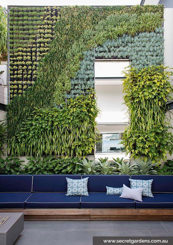 Five metre green wall