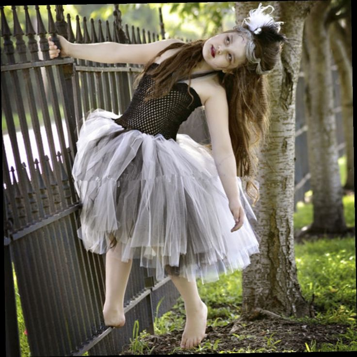 49.23$  Watch now - http://aliuux.worldwells.pw/go.php?t=32783067530 - New Halloween Ballet princess dress Costume Kids Zombie tutu Dress Girl Cosplay Clothing Children toddler girl dresses 49.23$