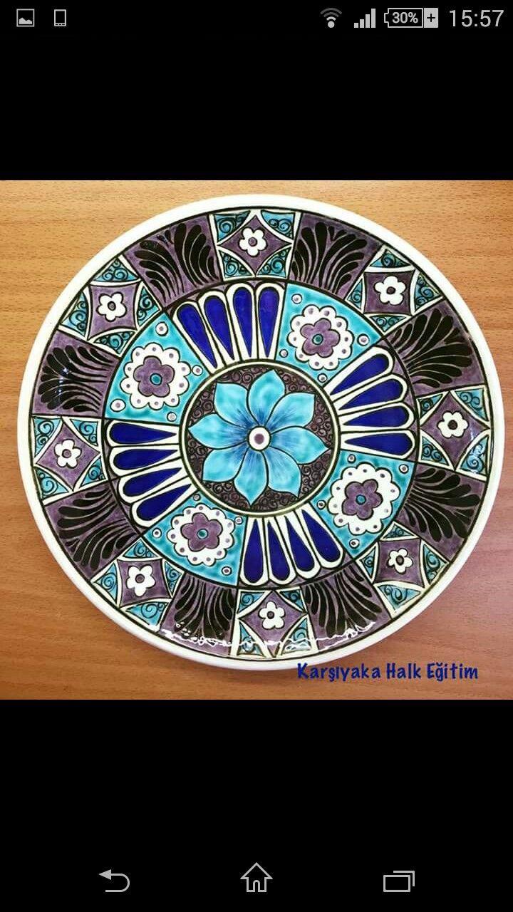 Ceramic Decor Ceramic Plates Ceramic Pottery Turkish