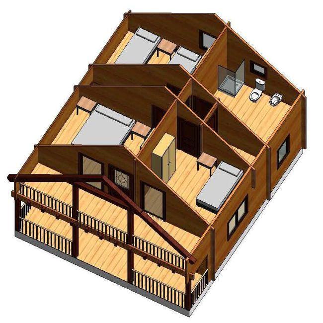 Incluido Montaje E Instalaciones Electricidad Casas De Madera Casas Madera Modernas Tipos De Casas
