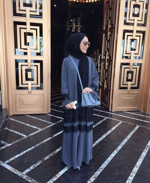 hijab, muslim, and muslim fashion image