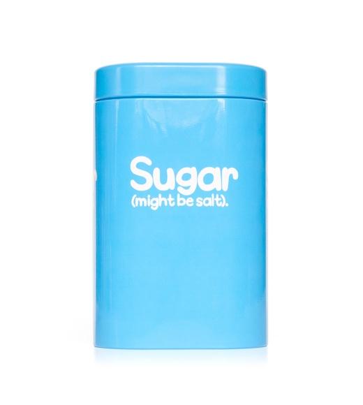 Sugar (might be salt).