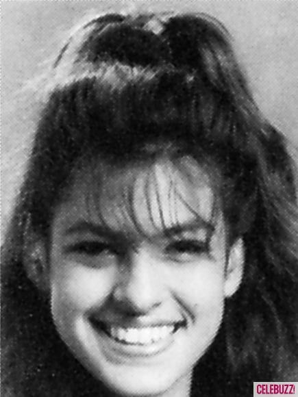 Eva Mendes --- highschool pic lol Looking like Lauren Vizza!!! :D